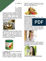 10 Formas en Que Podemos Ayudar Al Trabajo Del Aparato Digestivo