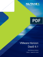 Nutanix Reference Architecture VMWare Horizon DaaS 6.1