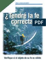 ¿tendre la Fe correcta.pdf