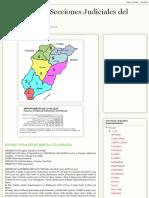 Secciones Judiciales Del Uruguay