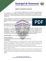 Subsidios e Incentivos Fiscales Actualizado Hasta El 30Abril2018