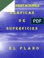 Representaciones gráficas de superficies cálculo