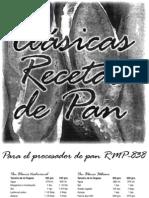 Maquina Para Pan Recco Rmp-838 - Recetas y Manual