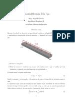 Solucion De Ecuación Diferencial de la Viga