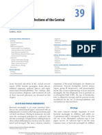 Acute Bacterial Infections of the Central Nervous System