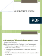Animated Electronic Payment Systems