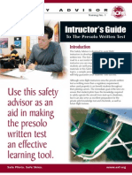AOPA - Instructors Guide to the Pre-Solo Written Test