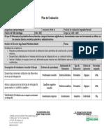 Plan de Evaluacion Bloque II