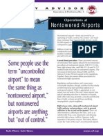 AOPA - Operations at Non-Towered Airports