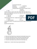 Soal Test Mekanik