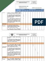 Planificacion Anual 1medio 2019