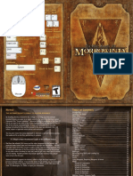 The Elder Scrolls III - Morrowind - Manual pdf | Elf