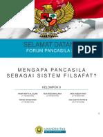 PPT Pancasila sebagai sistem filsafat