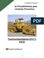 Manual de Procedimientos Tractocompactadores 815 f y 816 b