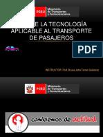 Uso de Tecnologias Aplicables a Transporte de Pasajeros