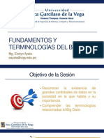 Conceptos y Terminologias BIG DATA