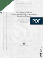 Manriquez Viviana - Las Poblaciones Indigenas de Chile