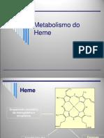 Metabolismo Heme
