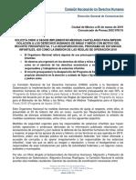 CNDH pide medidas cautelares por ajuste presupuestal a guarderías