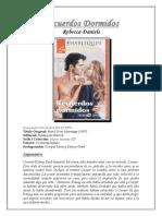 Rebecca Daniels - Recuerdos Dormidos.pdf