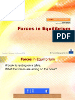 2.8 Forces in Equilibrium (2)
