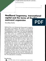 268 Bohle Neoliberal hegemony