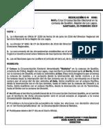 SERVEL INFORMA CREACIÓN CIRCUNSCRIPCIÓN ELECTORAL EN LA COMUNA DE QUELLON