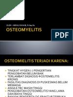 Osteomyelitis n Amputasi