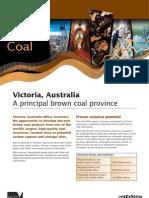 Victorian Brown Coal Fact Sheet