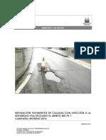 Reparacion de Pavimentos