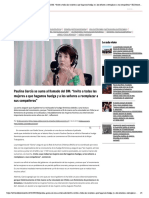 Paulina García se suma al llamado del 8M_ _Invito a todas las mujeres a que hagamos huelga y a los señores a reemplazar a sus compañeras_ _ El Desconcierto