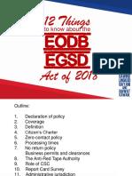 EODB EGSD