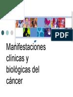 Manifestaciones Clinicas y Biologicas Del Cancer
