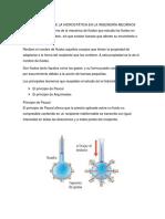 Importancia de La Hidrostática en La Ingeniería Mecánica