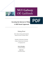 Securing the Internet of Things a ZKP Approach Thesis Extract