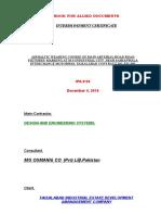 Escalation 1 to 4 - Comp Mrket & GPFSD