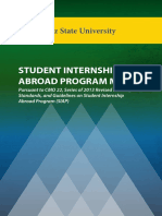 Student Internship Abroad Program Manual Final Version 1
