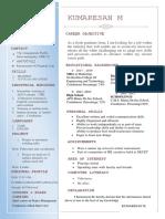 Kumz 123 Resume