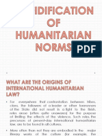Cofidification of Humanitarian Norms(Final)