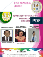 Revised Pediatrics Orientation 2018