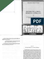 Historia de La Prosa Medieval Castellana i (Cap. Vi Don Juan Manuel. La Cortesía Nobiliaria)
