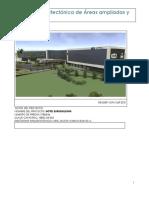 Memoria Arquitectónica de Áreas Ampliadas y Modificadas