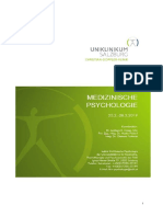 Skript  medizinische psychologie