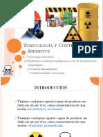 Toxicologia y Control Ambiental