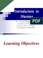 Nursing intro