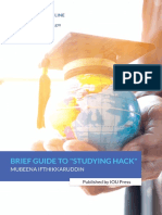 Brief Guide to Studying Hack
