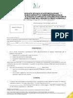 Modulo INL 1 Istanza Autorizzazione Installazione Impianti Audiovisivi