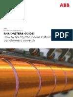 CT & VT Parameter