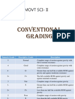 Conventional Grading