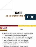 about soil in construction industry